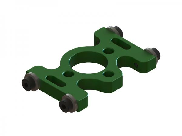 OXY Heli OXY3 GL Alu Motorträgerplatte grün