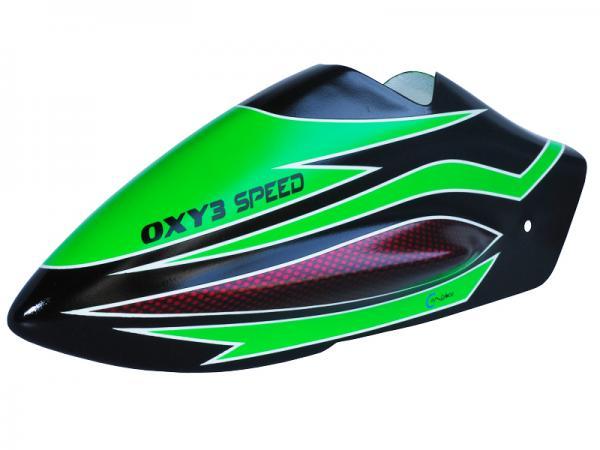OXY Heli OXY3 Speed Haube grün
