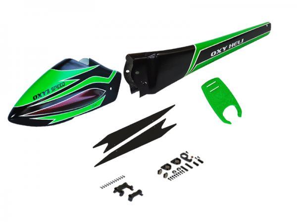OXY Heli OXY3 Speed Body green