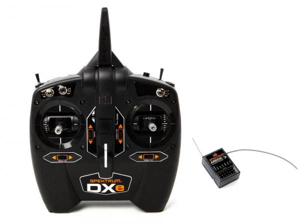 Spektrum DXe Sender 6+ Kanal Sender mit Empfänger AR610
