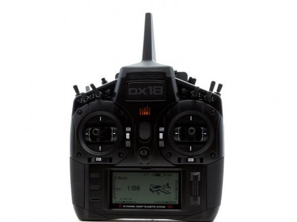 Spektrum DX18 Stealth Edition 2.4GHz DSMX Fernsteuerung mit AR9020