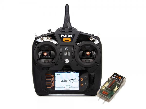 Spektrum NX6 6 Kanal Sender mit AR6610T Empfänger