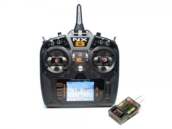Spektrum NX8 8 Kanal Einzelsender mit AR8020T Empfänger