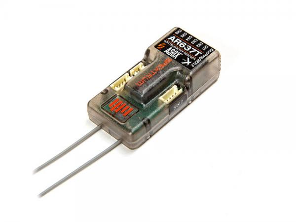 Spektrum AR637T 6 Kanal SAFE und AS3X Telemetrie Empfänger