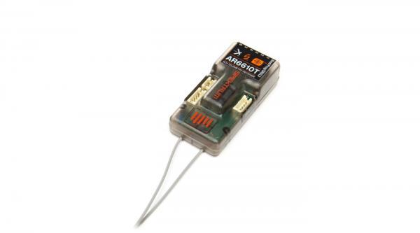 Spektrum AR6610T 6 Kanal Empfänger mit Telemetrie
