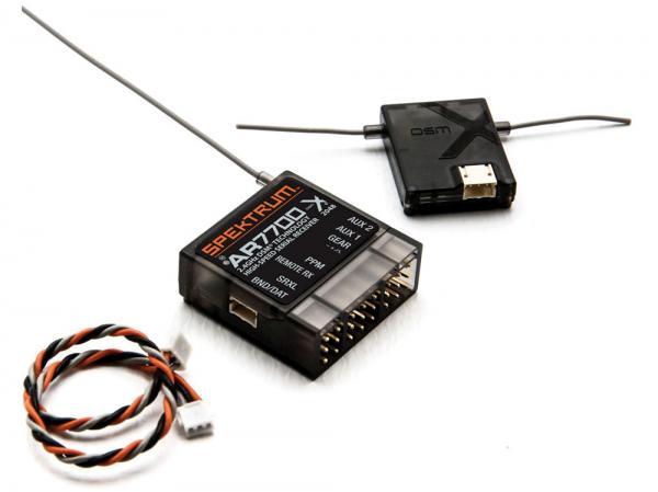 Spektrum AR7700 Seriell Empfänger mit PPM, SRXL (mit Summensignal)