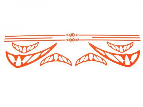 soXos Sticker-Set Orange