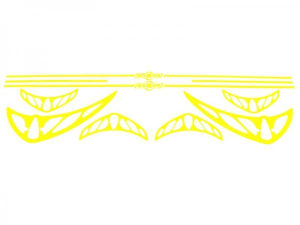 soXos Sticker-Set Gelb