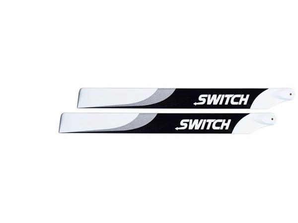 SwitchBlades 253 mm Carbon Hauptrotorblätter # SW-253