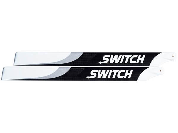 SwitchBlades 713 mm Carbon Hauptrotorblätter