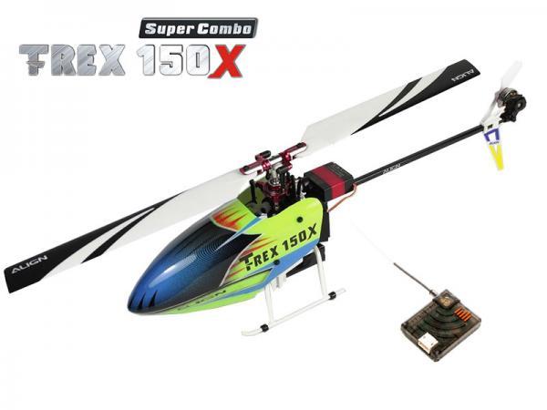 Align T-REX 150X Super Combo mit DSMX Satellit