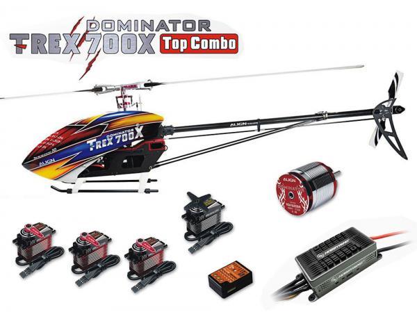 Align T-Rex 700X DOMINATOR Top Combo mit BeastX und  (Platinum HV 200A)