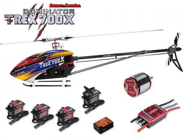Align T-Rex 700X DOMINATOR Super Combo mit BeastX PLUS