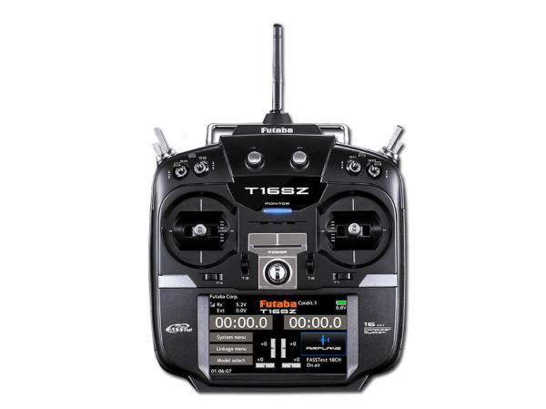 Futaba Sender T16SZ 2.4GHz + R7008SB M2