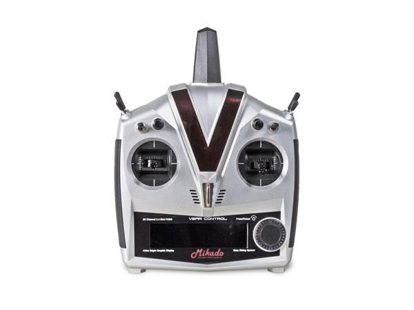 Mikado VBar Control, Alu-Gehäuse, silber VBasic-Empfänger # 05073