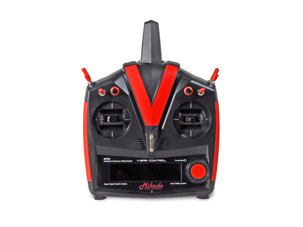 Mikado VBar Control Custom Line, schwarz-rot, VBar NEO # 05218