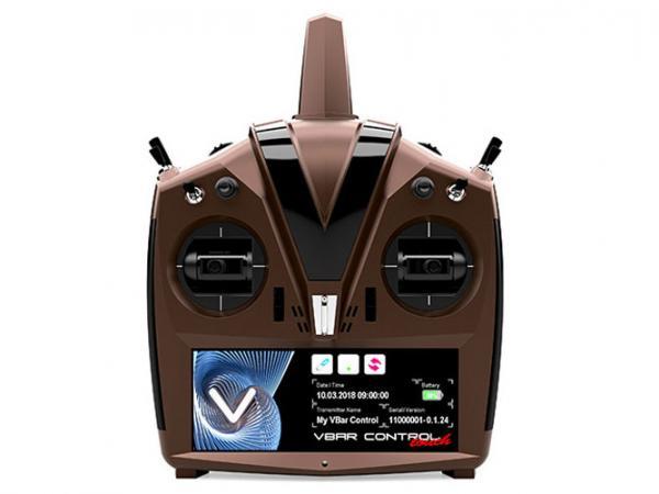 Mikado VBar Control Touch Sender dark-mocha