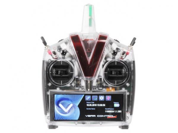 Mikado VBar Control Touch Sender weiss-transparent