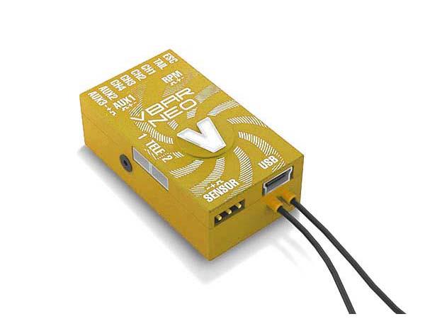 Mikado VStabi NEO VLink 6.x Express mit Alu-Gehäuse gelb