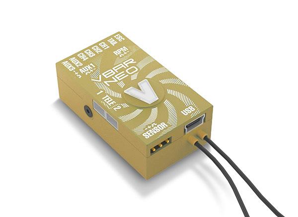 Mikado VStabi NEO VLink 6.x Express mit Alu-Gehäuse gold