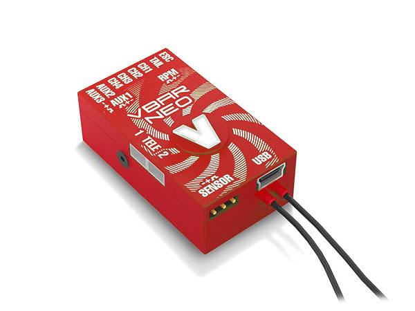 Mikado VStabi NEO VLink 6.x Express mit Alu-Gehäuse rot