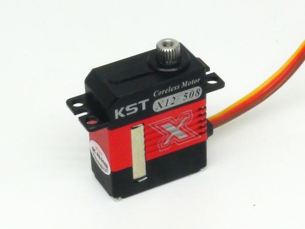 KST X12 508 Digital Taumelscheiben- Servo mit Alu Gehäuse