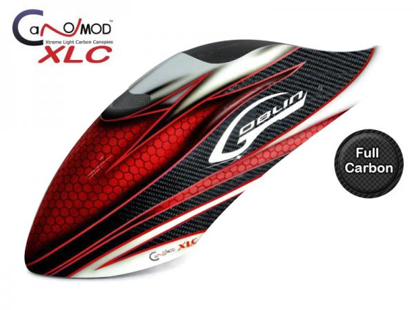 Canomod Goblin 500 Sport Red Eyes - FULL CARBON Canopy