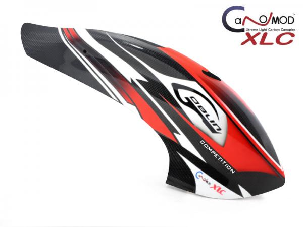 Canomod Goblin 700 Competition RedW - FULL CARBON Canopy