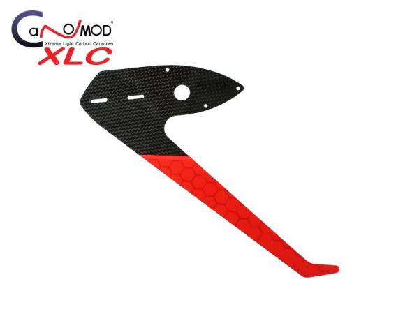 Canomod Goblin 700 Speed Red Eyes - Carbon Vertical Fin