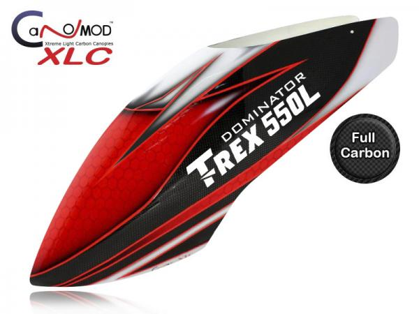 Canomod T-REX 550L Dominator Red Eyes - FULL CARBON Canopy