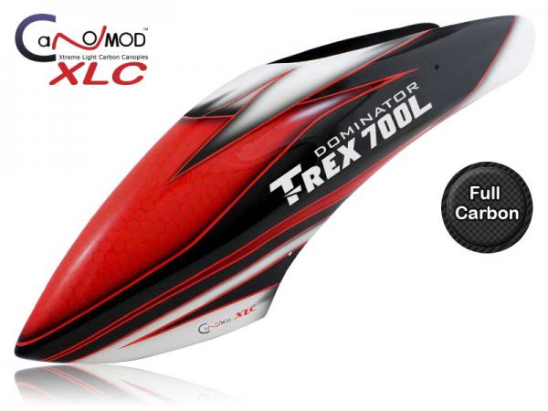 Canomod T-REX 700L Red Eyes - FULL CARBON Canopy