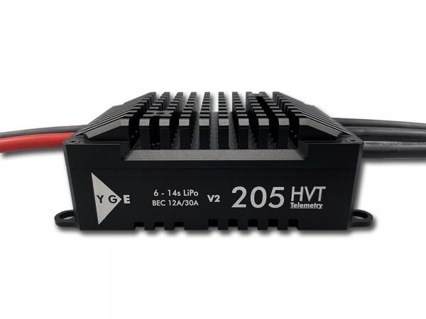 YGE 205HVT Brushless Regler 205A limited Black Edition