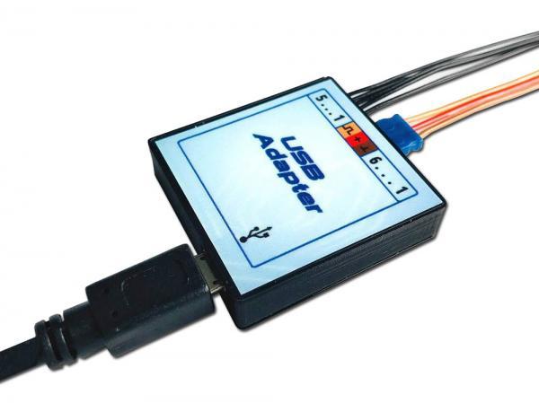 YGE USB-Adapter für Telemetrie Regler