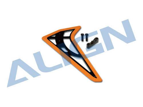 Align 450L DOMINATOR Verticales Leitwerk orange (fluoreszierend) # H45T006XM