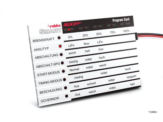 Robbe ROXXY Smart Program Card Deutsch # 85731000