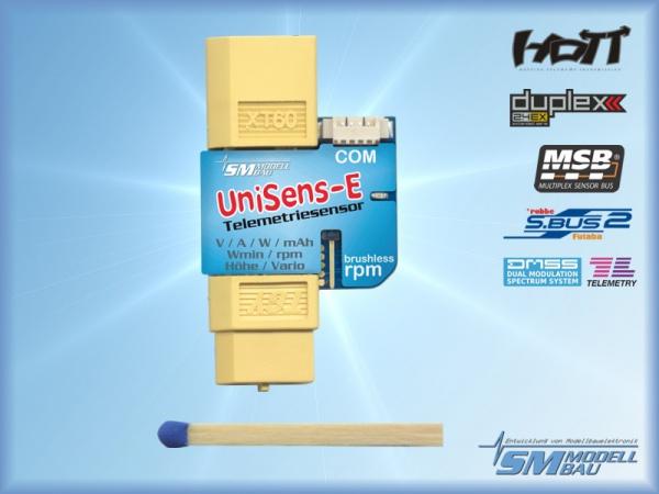UniSens-E mit XT60 Stecker (Multisensor) # 3101