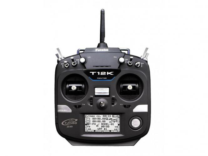 Futaba T12K 12+2 Kanal Sender & Empfänger R3008SB # P-CB12K/EU