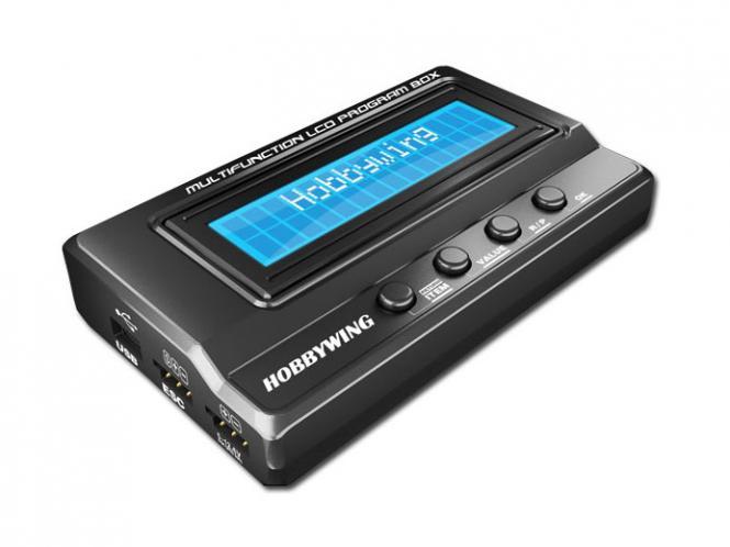 HOBBYWING Programmierbox LCD für Hobbywing Xerun, Ezrun und Platinum # HW30502000