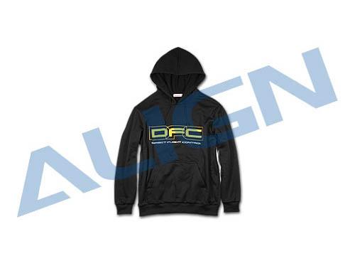 Align DFC Kaputzenpullover schwarz # HOC00207-1
