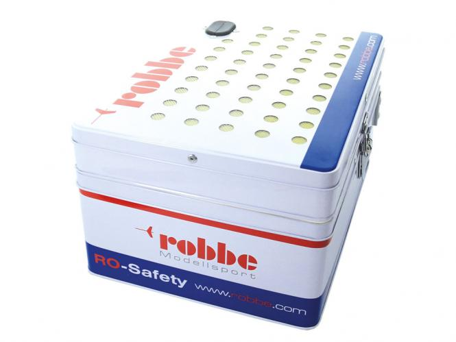 Robbe RO-SAFETY LIPO Tresor Transport und Ladekoffer # 7003