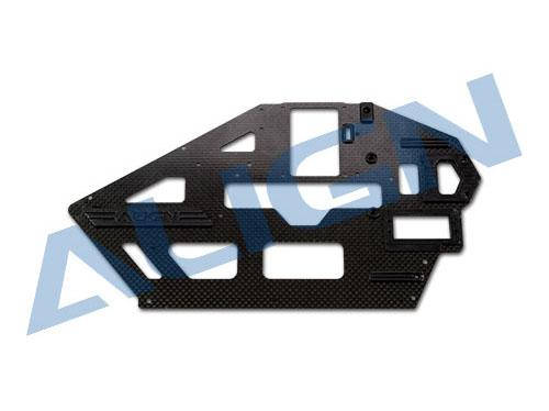 Align T-REX 500L Carbon Rahmenplatte 1,6mm (L) # H50B002XX