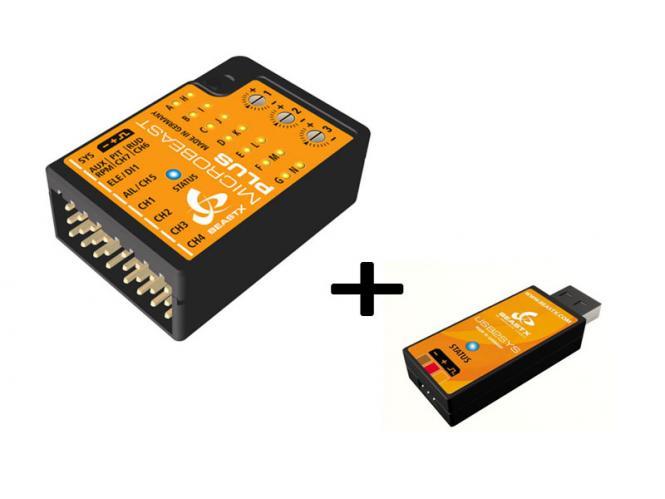 BEASTX MICROBEAST PLUS + USB-Interface # BXM76400+BXA76007