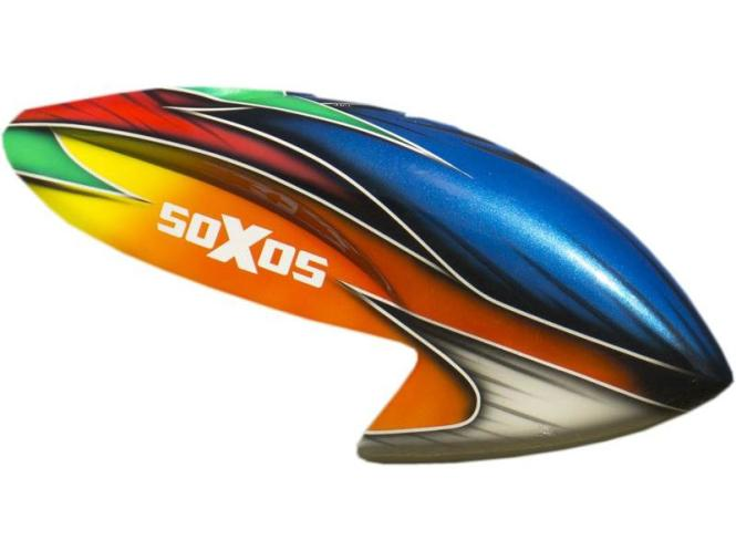 soXos Kabinenhaube Blau / Orange # C606