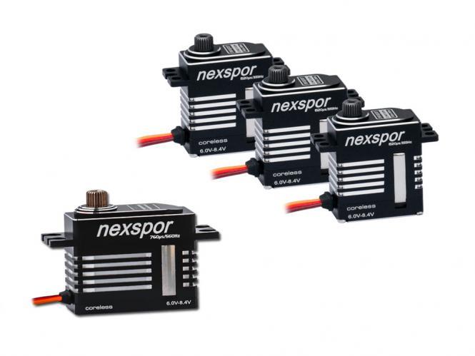 NEXSPOR Heli Servo Set 3x CLS2310S / 1x CLS3507T # CLS2310S-3507T-SET