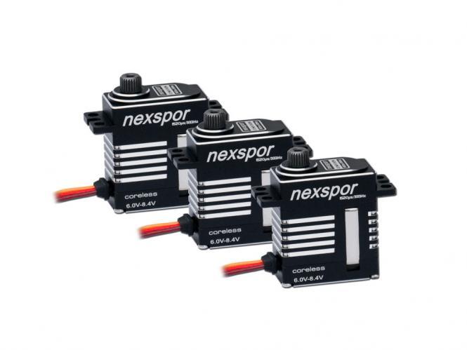 NEXSPOR Heli Servo Set 3x CLS2310S # CLS2310S-3er