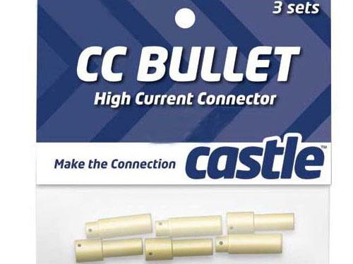 Castle Set of 3 each female and male 5.5mm connectors. # CSECCBUL553