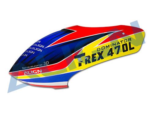 Align T-REX 470L / 470LT Haube lackiert # HC4703