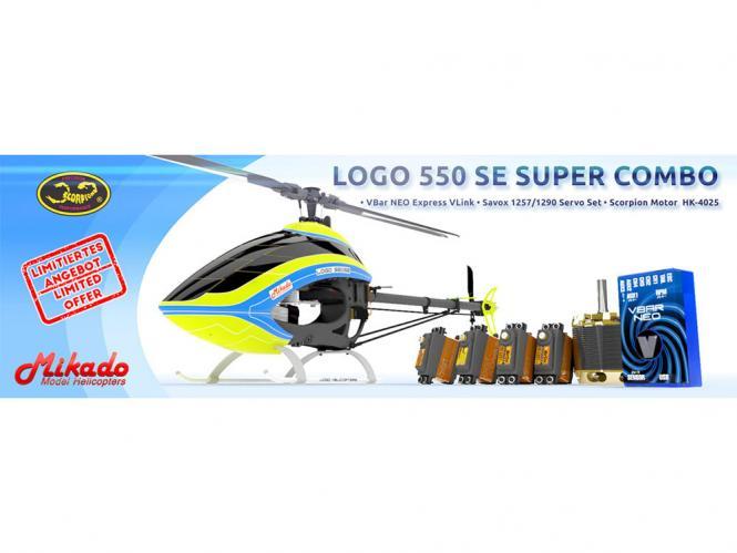 Mikado LOGO 550 SE V2 Super Combo # 05331