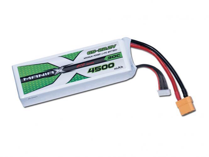 ManiaX LiPo 6S 4500mAh 22.2V ECO 30C
