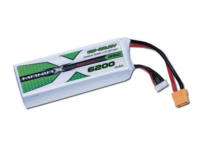 ManiaX LiPo 6S 6200mAh 22.2V ECO 35C